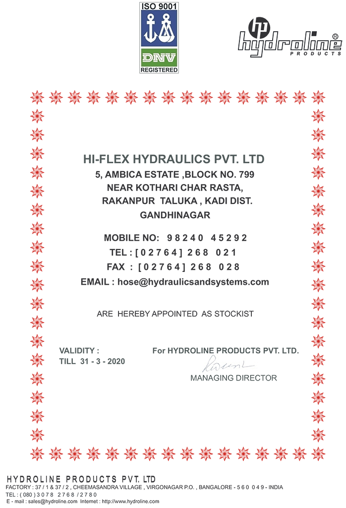 hydraulic hose fittings dealers and distributor