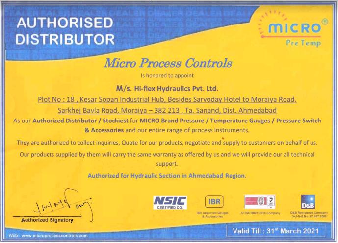 authorised hydraulic hose - Teflon Hose Manufacturer